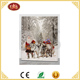 father christmas oil painting art and miniature painting