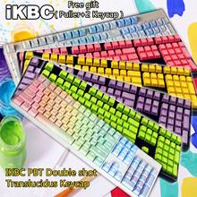 IKBC104 Double shot Translucidus Backlit PBT Mechanical Keycap For Cherry Keycool NOPPOO PLU HPE Ducky Filco Mechanical Keyboard
