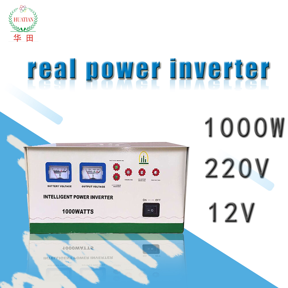 12v power inverter lead acid battery 1000watt dc to ac power 12vdc to 220vac trace el inverter with battery