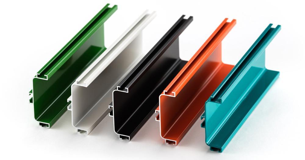 Beste Kwaliteit 6000 Serie Gewicht Van Aluminium Sectie Aluminium Glas Showcase