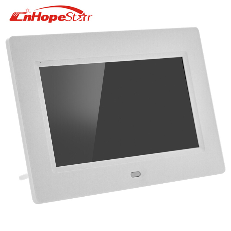 7 Inch Digital Photo Frame With 800 480 Resolution