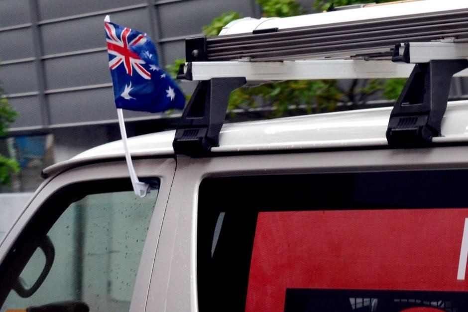 Custom Plastic Poles Magnetic Car Flag Mount Stands Sticks Window