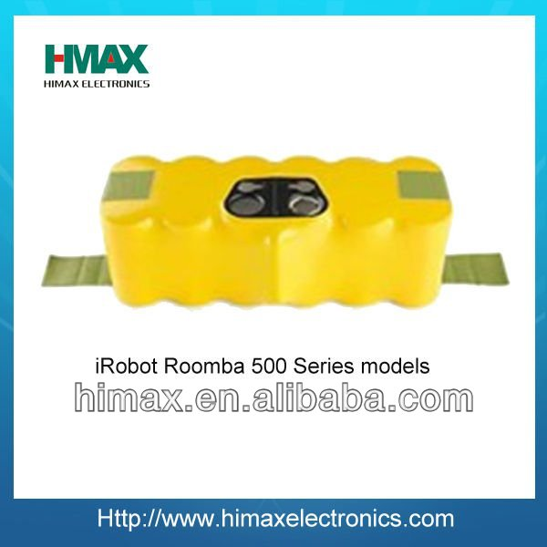 14.4V NiMH rechargeable battery pack for iRobot Roomba 500 Series