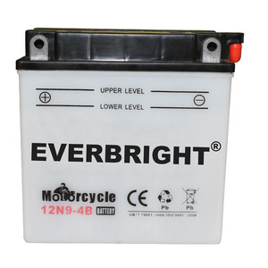 Long Service Life 12N9-4B Max Power Battery for Motorcycle