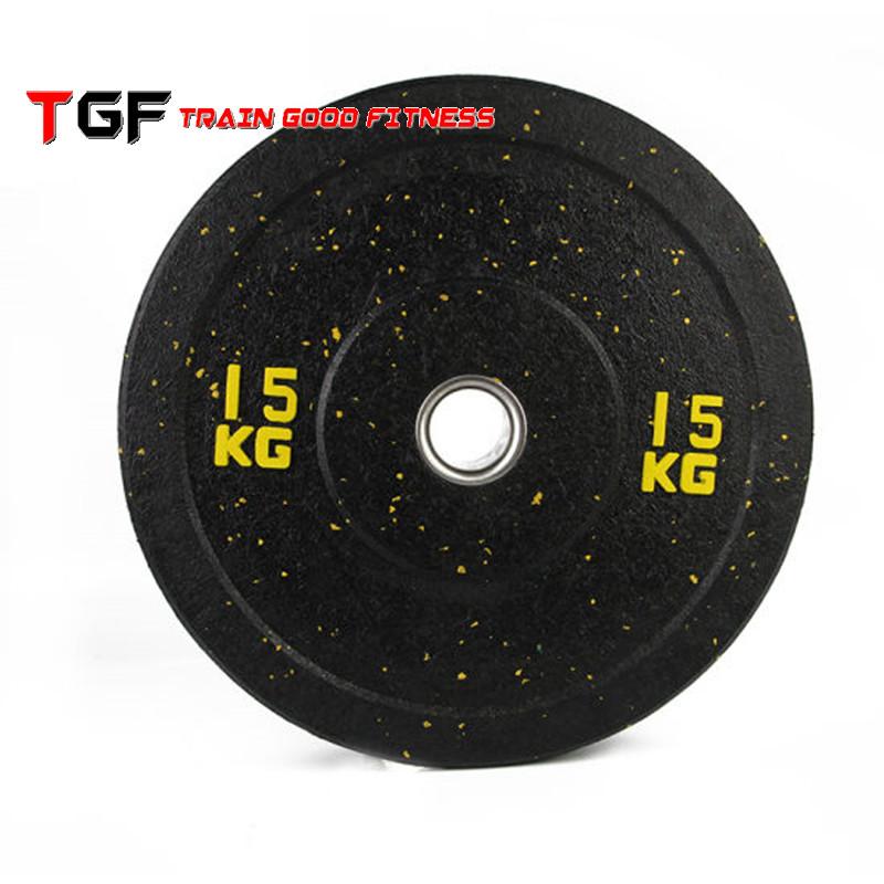 Weight Lifting Hi temp Crumb Rubber Bumper Plate