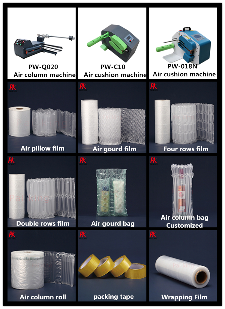 良質衝撃保護インフレータブルエアダンネージバッグため Thimerosal ボトル/ガラス包装