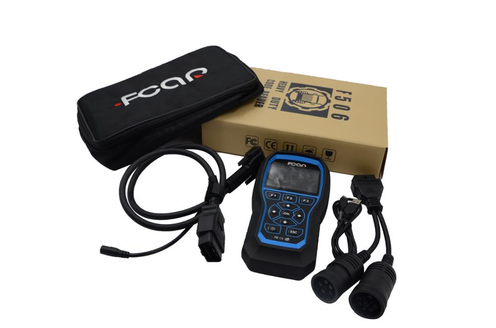 FCAR F506 diagnostic code reader for all vehicles universal cars diesel vehicles truck bus diagnostic scanner