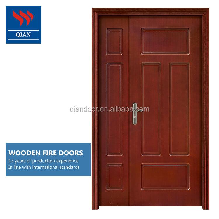 купить огнестойкие дерева двери оптом из китая