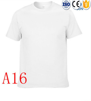 a465dcf3f67d High quality cotton printed white t shirt printing OEM Plain mens all color  shirt classic collar