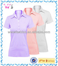 2013 summer blank women polo shirt