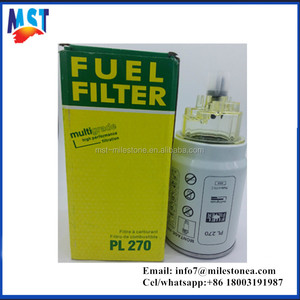 Hot selling Pl270 Oil/Fuel Water Separator Filters for Mann (PL270)
