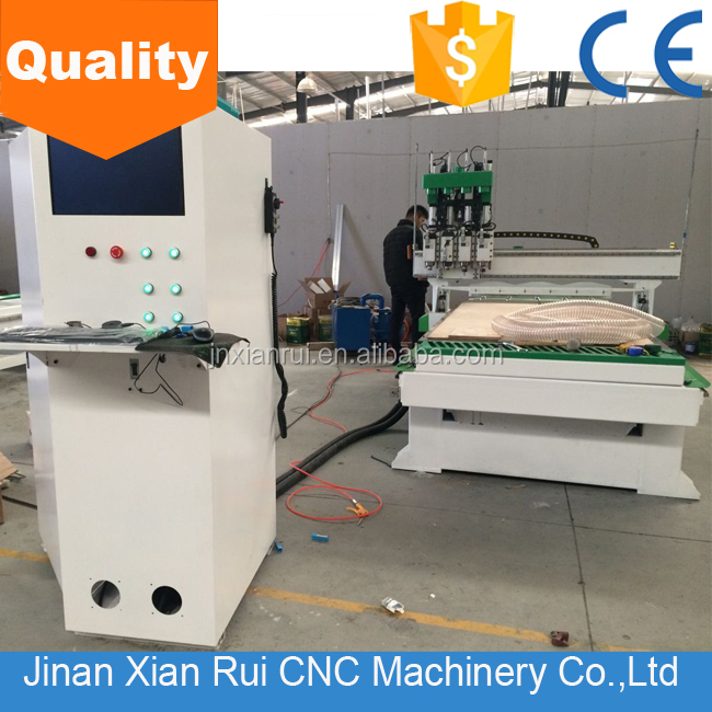 Alibaba golden memember!!!China Good quality High speed XR-1325(1300*2500*200mm) wookworking cnc router