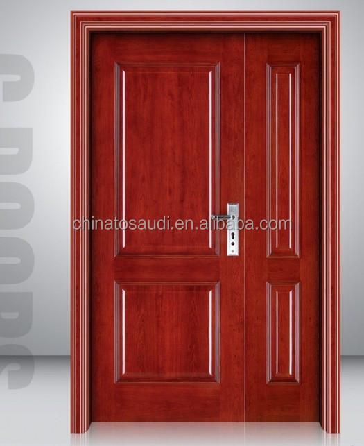 Simple teak wood door designs main double wooden door, View wood ...