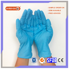 SHINEHOO Cheap Nitrile Medical Exam Gloves Disposable