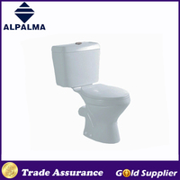 Cheap price bathroom two piece toilet