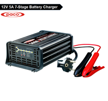 External Battery Charger with Most types of Lead-acid Batteries Calcium, GEL and AGM