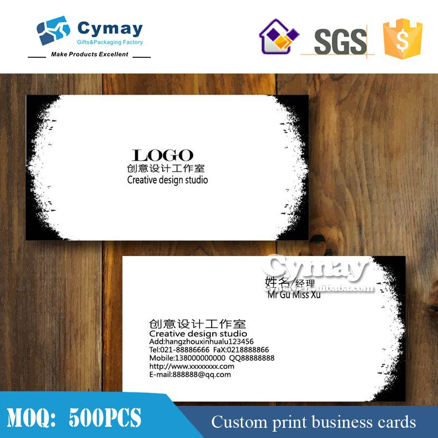 custom design business card <strong>printing</strong> for sale