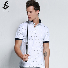 wholesale hot sale plain white cotton tops short sleeve polo shirts with pattern