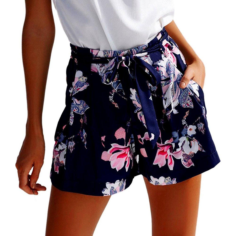 b6175da602 Get Quotations · Boomboom Women Shorts, Hot Pants Teen Girls Summer Casual Shorts  High Waist Short Pants