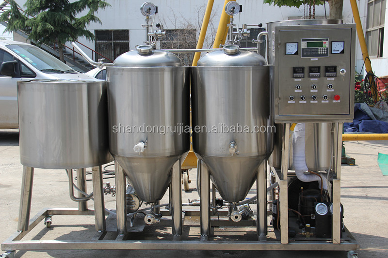 Widely use factory price mini used brewing equipment for beer
