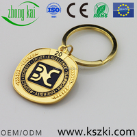 Promotional custom 3D metal keychain, customized designs are accepted