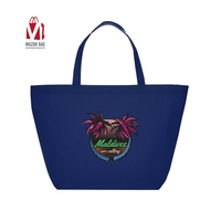 SMETA Sedex pillar 4 factory Custom promotion high quality tote folding nonwoven bag with logo