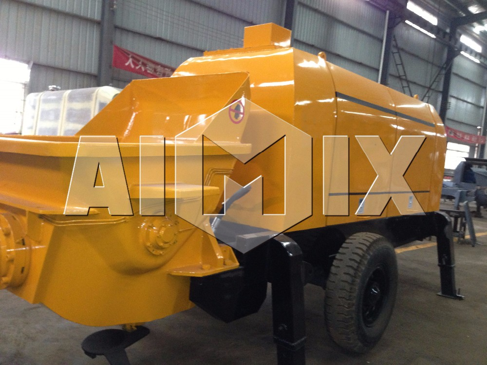 Low price of concrete pump dimensions concrete pump for sale in korea
