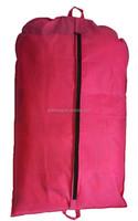cheap wholesale Pink Garment Bag,dust free waterproof garment bag,pink suit cover