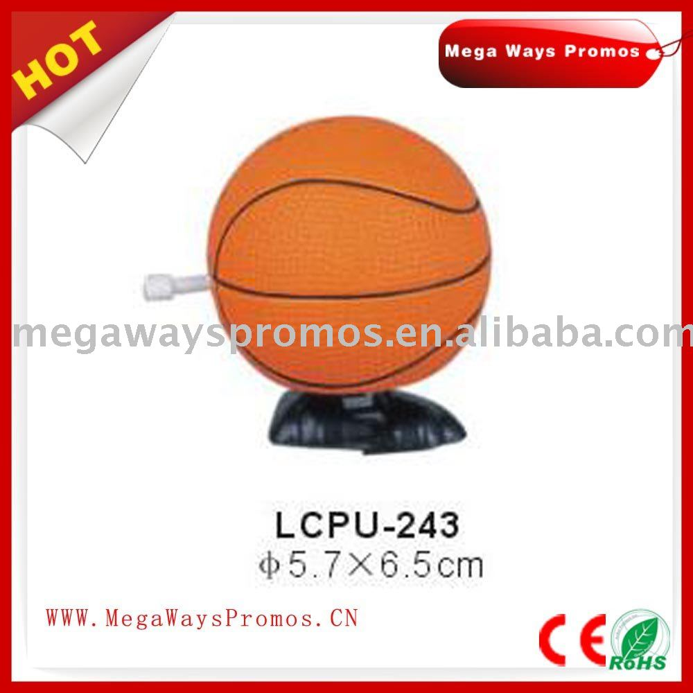 PU Foam Basketball Shaped Stress Ball