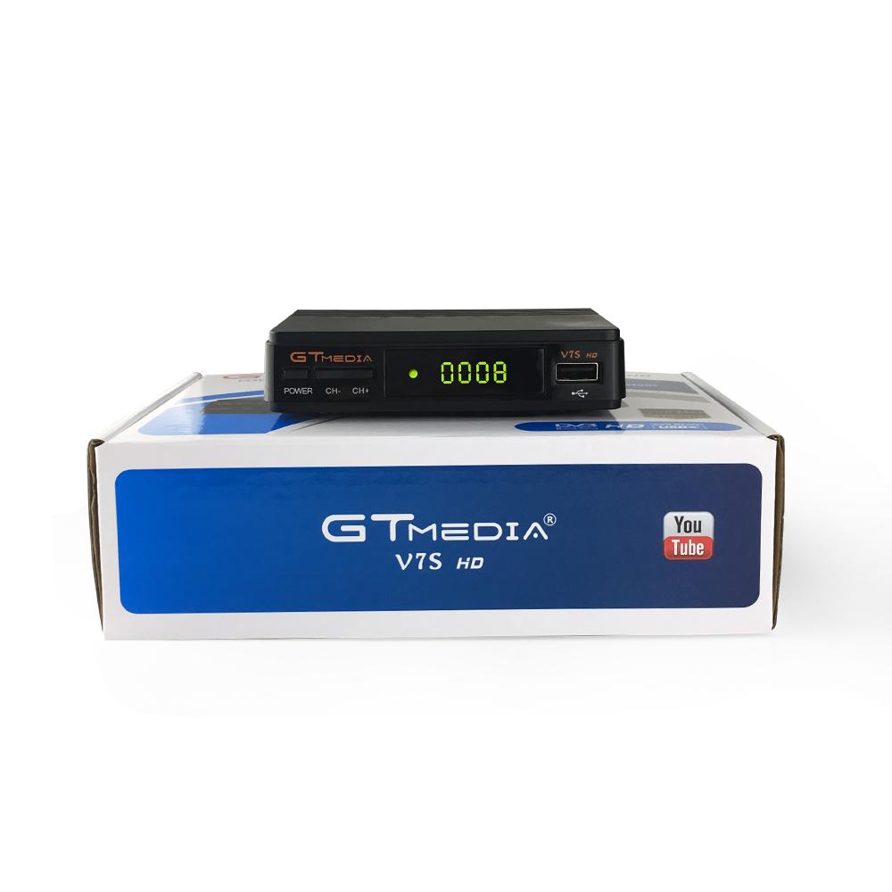 Freesat V7S HD DVB-S/S2 Satellietontvanger FTA Volledige HD1080P + USB WIFI ondersteuning YouTube, Biss sleutel, Clines PK FREESAT V7 HD receptor