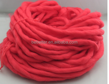 super chunky merino wool yarn 66s-110s hand knitting yarn by hand