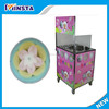 Electric Fairy Floss Sugar Cotton Candy Machine with Cart made in china