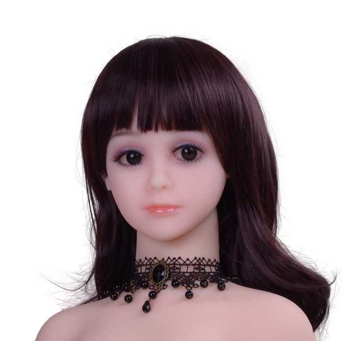 Real Japanese Young Silicone Breast 100cm <strong>Flat</strong> Chest Sex Doll