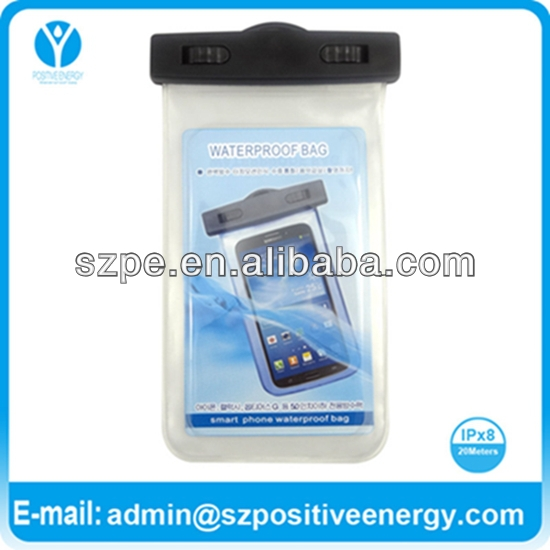 Waterproof Phone Case with IPX8 Certificate for A Range of Cell Phones including iPhone 5/5G/4/4S/3G/3GS/Samsung Galaxy S