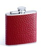 quality portable leather hip flask for whiskey