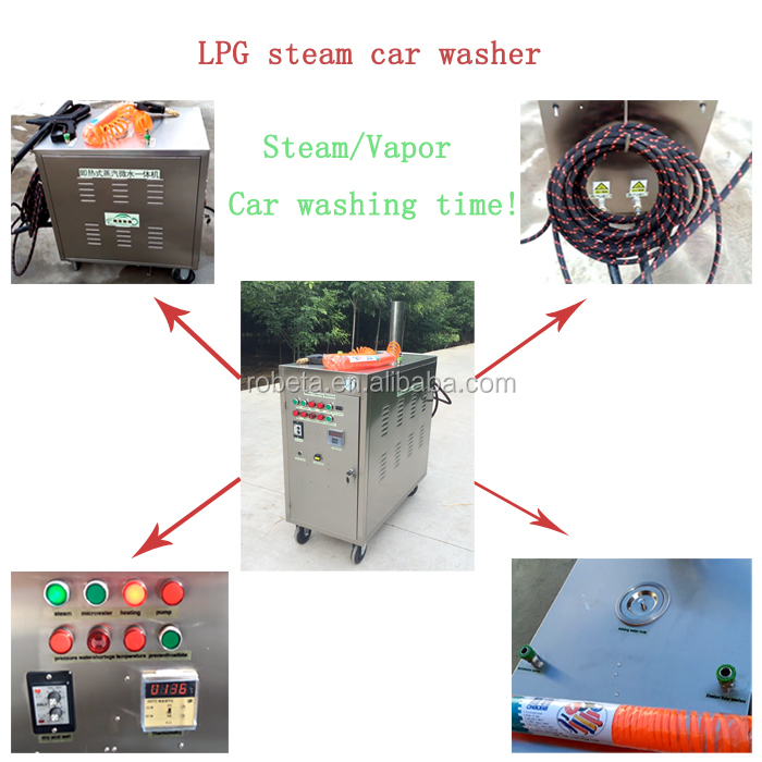 CE approved steam vapor industrial foam cleaner