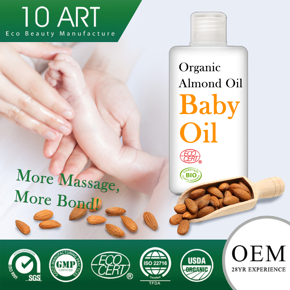 Pure & High Quality Organic Baby Oil Sweet Almond Oil wholesale