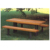 New Design Garden Unfoladable Wooden Picnic Table Sets Dinning Table Chairs