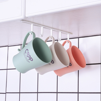 High quality Creative Under Cabinet Mugs Coffee Cups Wine Glasses Storage Drying Rack