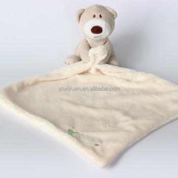 Stuffed Animal Blanket Baby Comforter Plush Bear Baby Blanket For