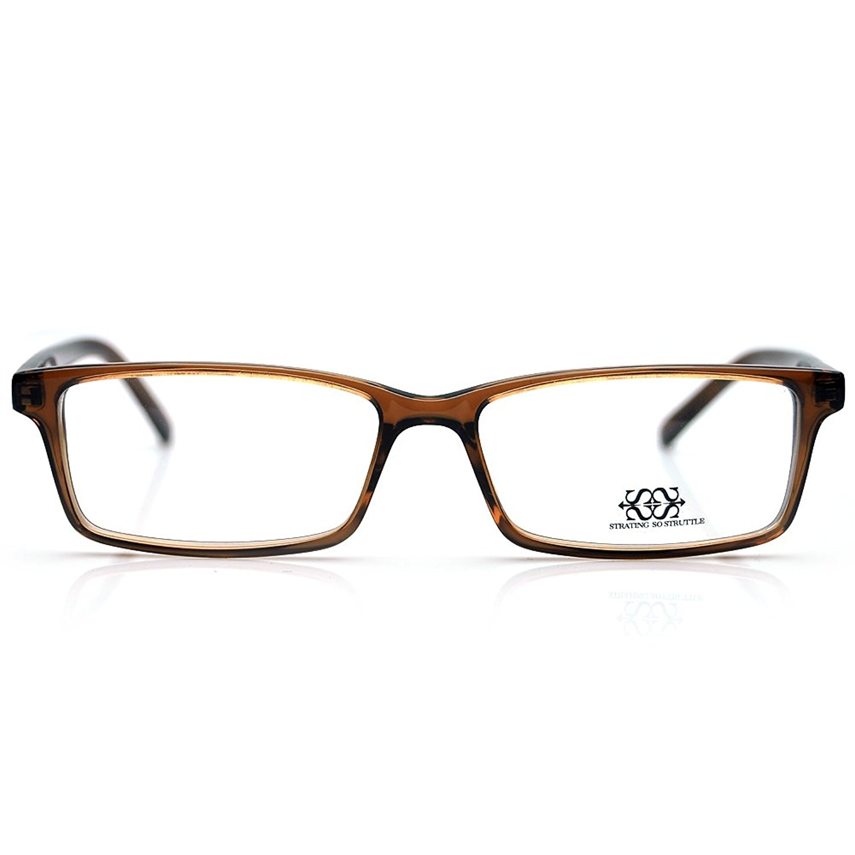 New Pensee Eyeglasses Prescription Rectangle Optical Frame 51mm Demo Lens
