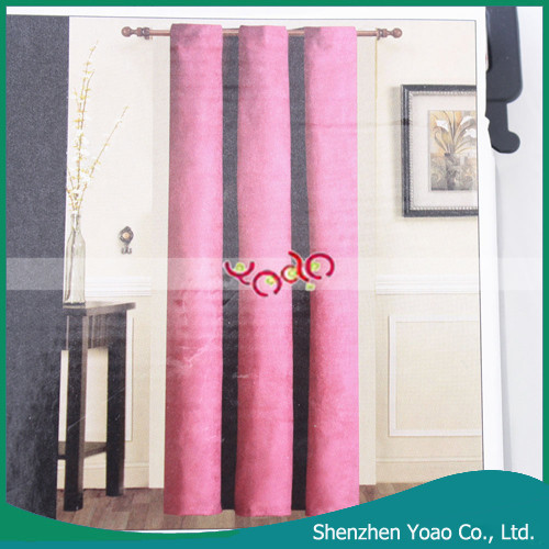 Micro Suede Grommet Window Curtain Wholesale Ready Made Curtain
