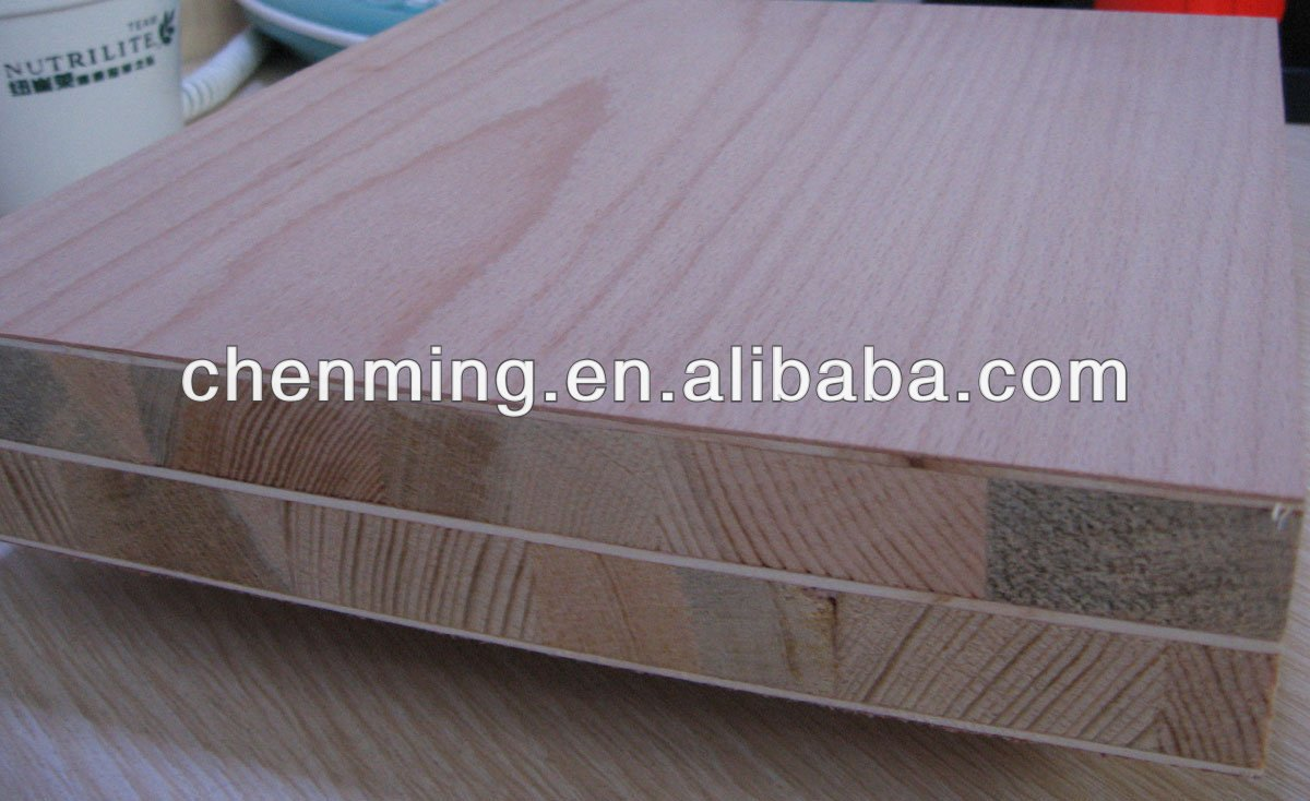 1220*2440mm,9~40mm fancy veneer blockboard