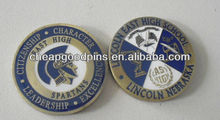 Brass customized military souvenir challenge coins custom coins
