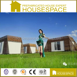 Green Movable Energy Effective Log Building solar kit homes made in china