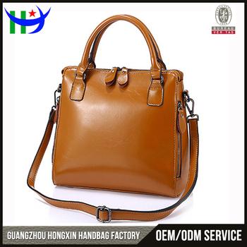354485160ec China supplier Guangzhou factory designer fashion ladies bag 2017 women  genuine leather tote handbag cow shoulder