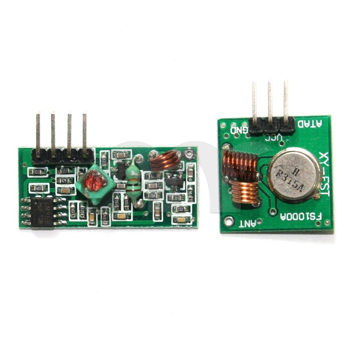 Cheap 315mhz Transmitter Circuit Find Rf Remote Control Board Garage Door 315 433mhz Get Quotations Eztronics Corp Module And Receiver Link Kit For Arduino Arm Mcu Wl