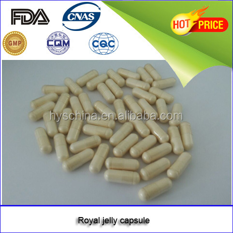 Health care product GMP certificated royal jell capsule