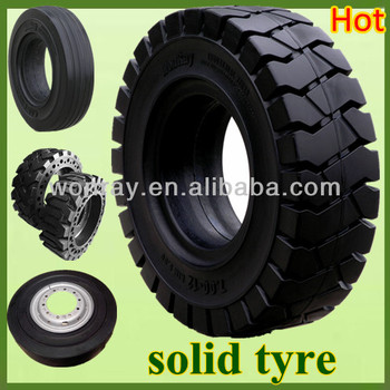 solid forklift tire 21x7x15 forklift solid pneumatic tires various size - Pneumatic Tires