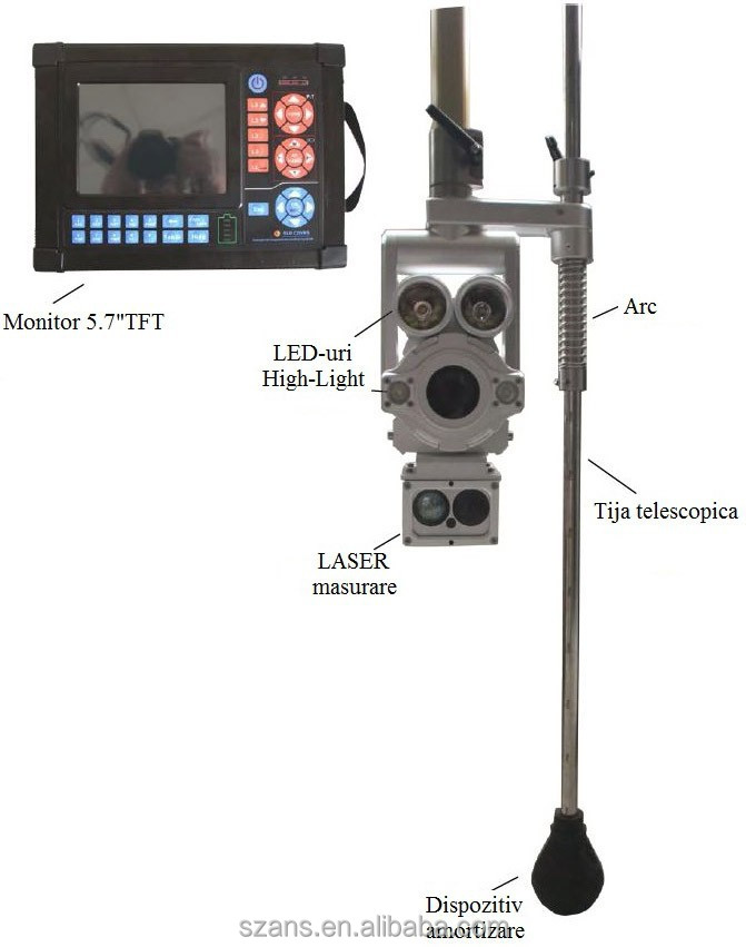 New Product Explosion proof remote control sewer inspection cameras